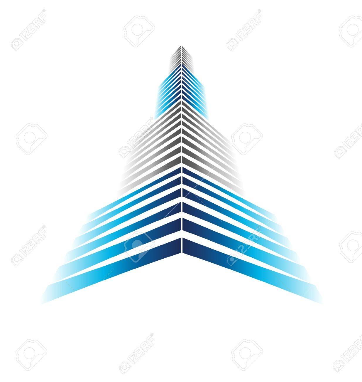 Skyscraper Icon Stock Vector - 16052376