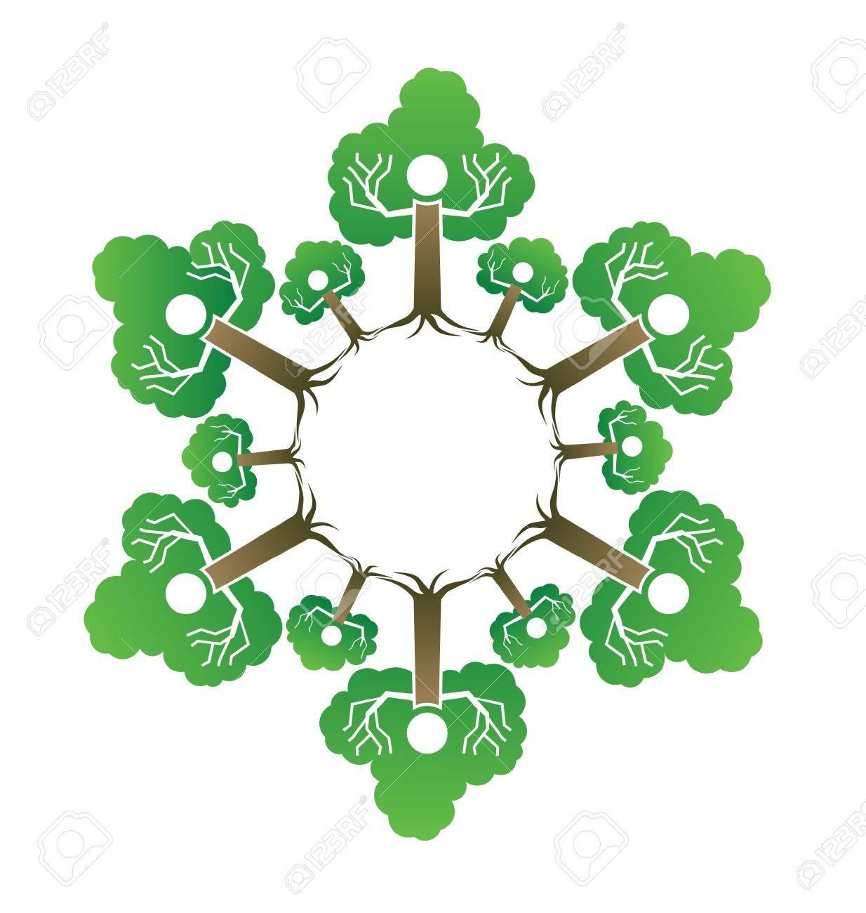 Family tree Stock Vector - 17771716