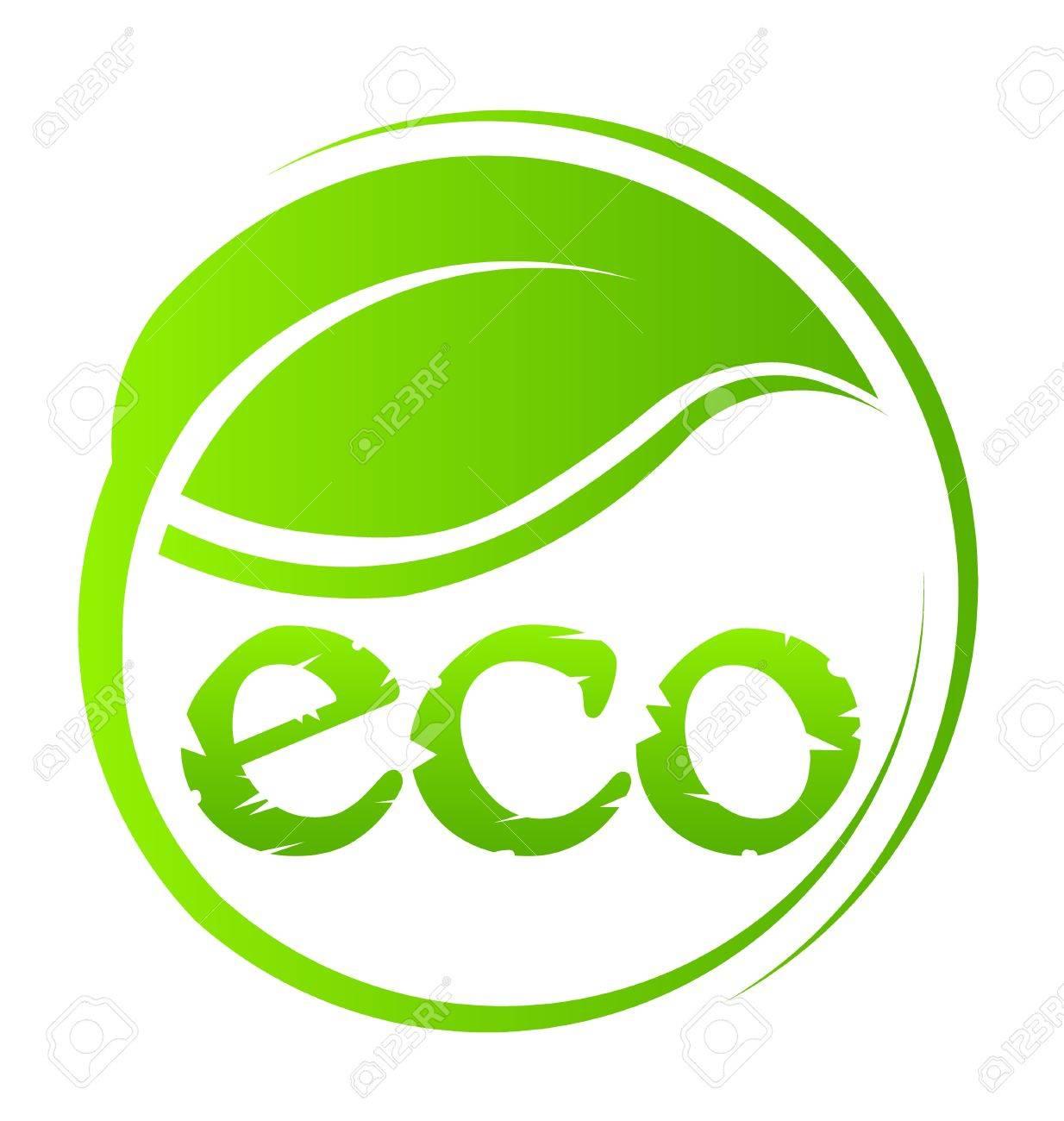 Eco green seal Stock Vector - 18840550