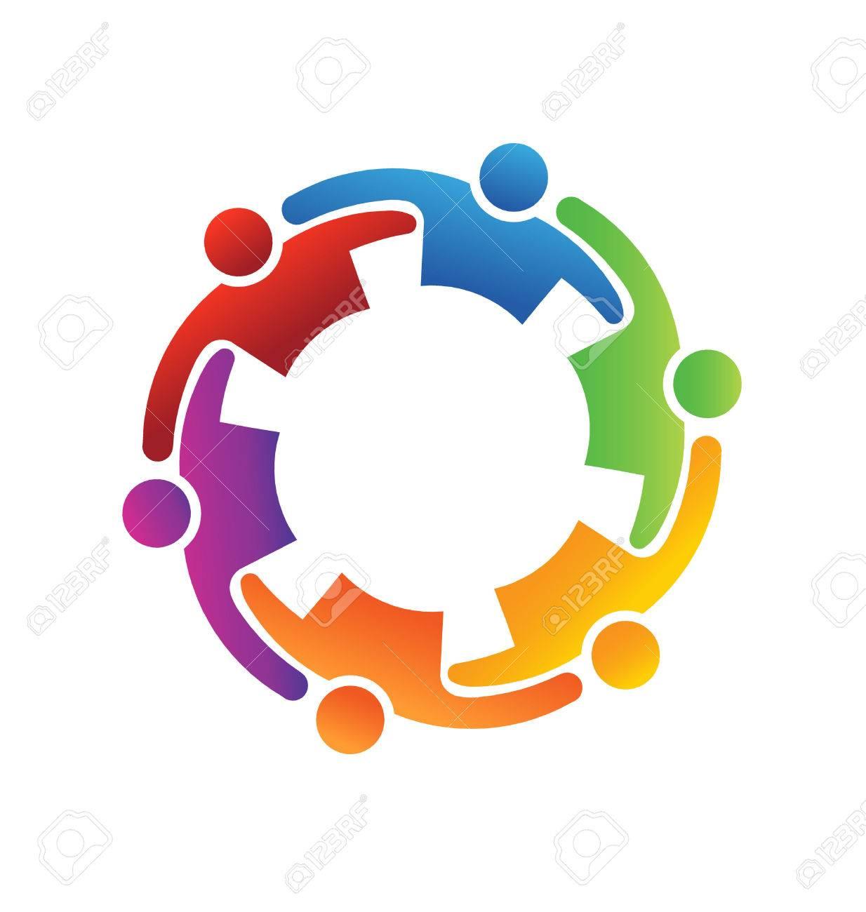 Vector Teamwork Embrace 6 - 24754772