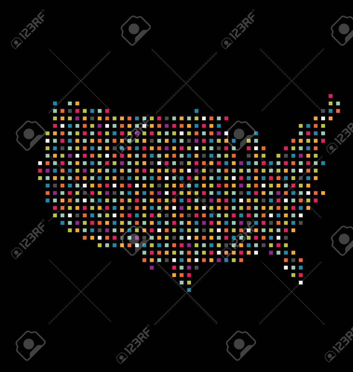 Visual Inspiration Dot Map Petri Projects Google Street View - Us census dot map
