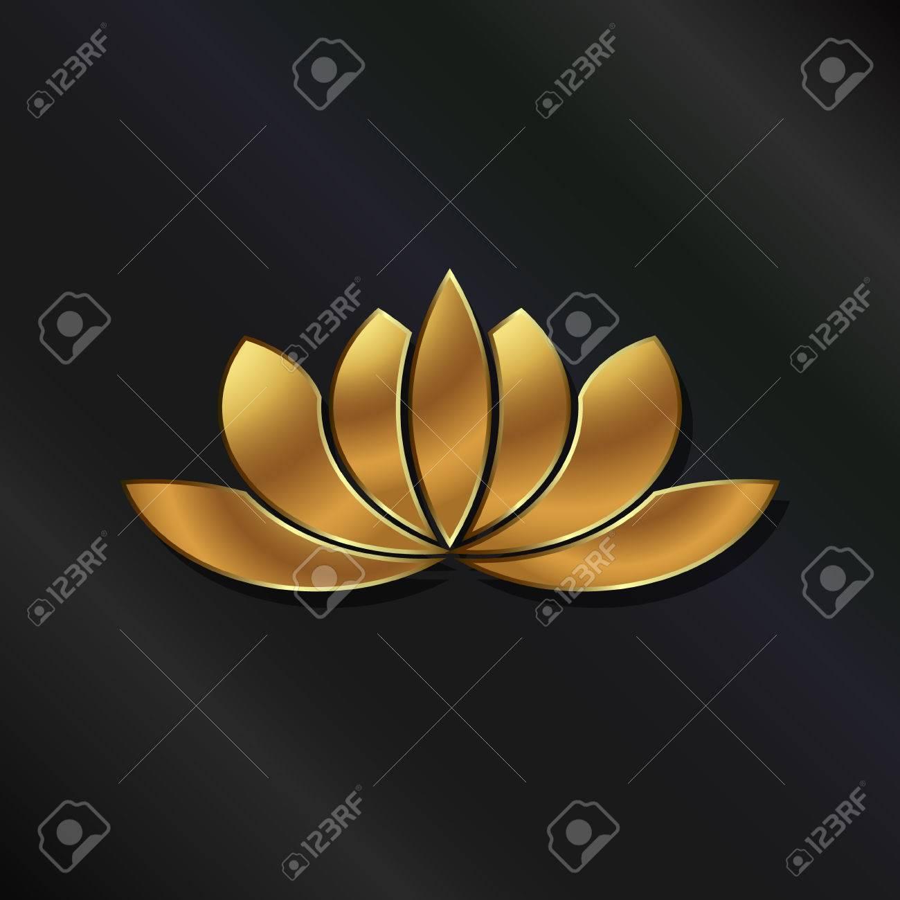 Luxury Gold Lotus plant image - 33499139