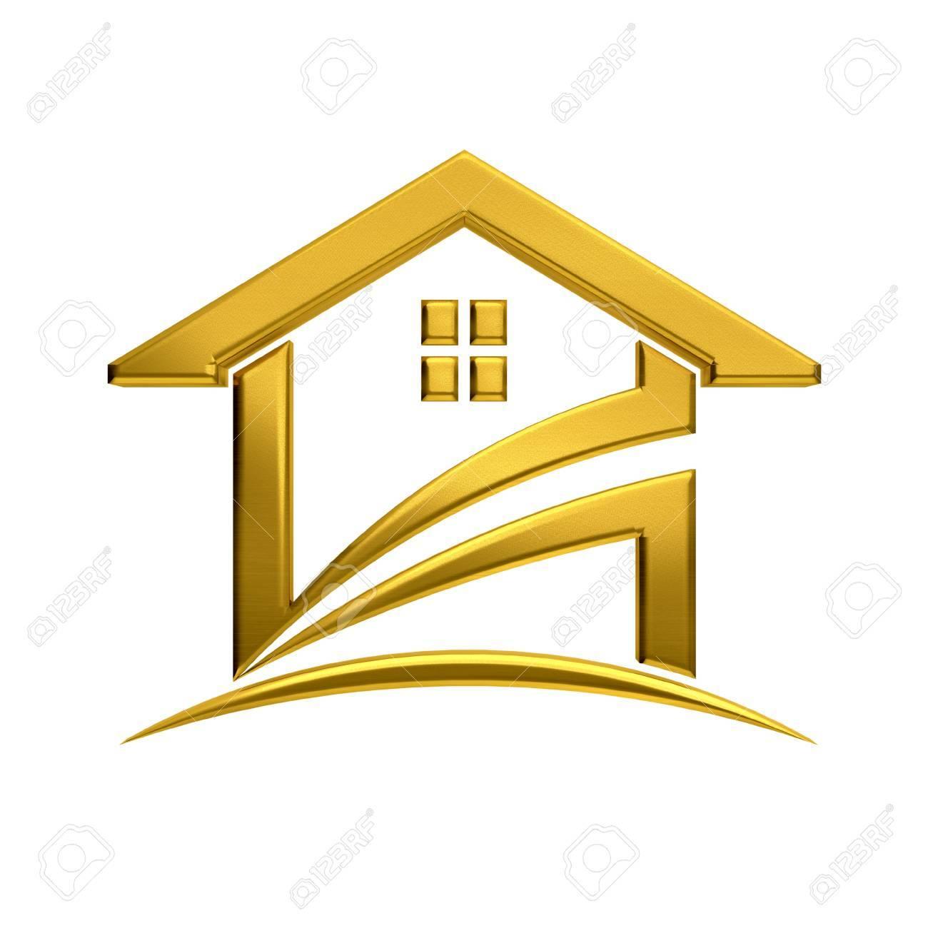 L Image De L Immobilier De Maison Doree Banque D Images Et Photos Libres De Droits Image 33720663
