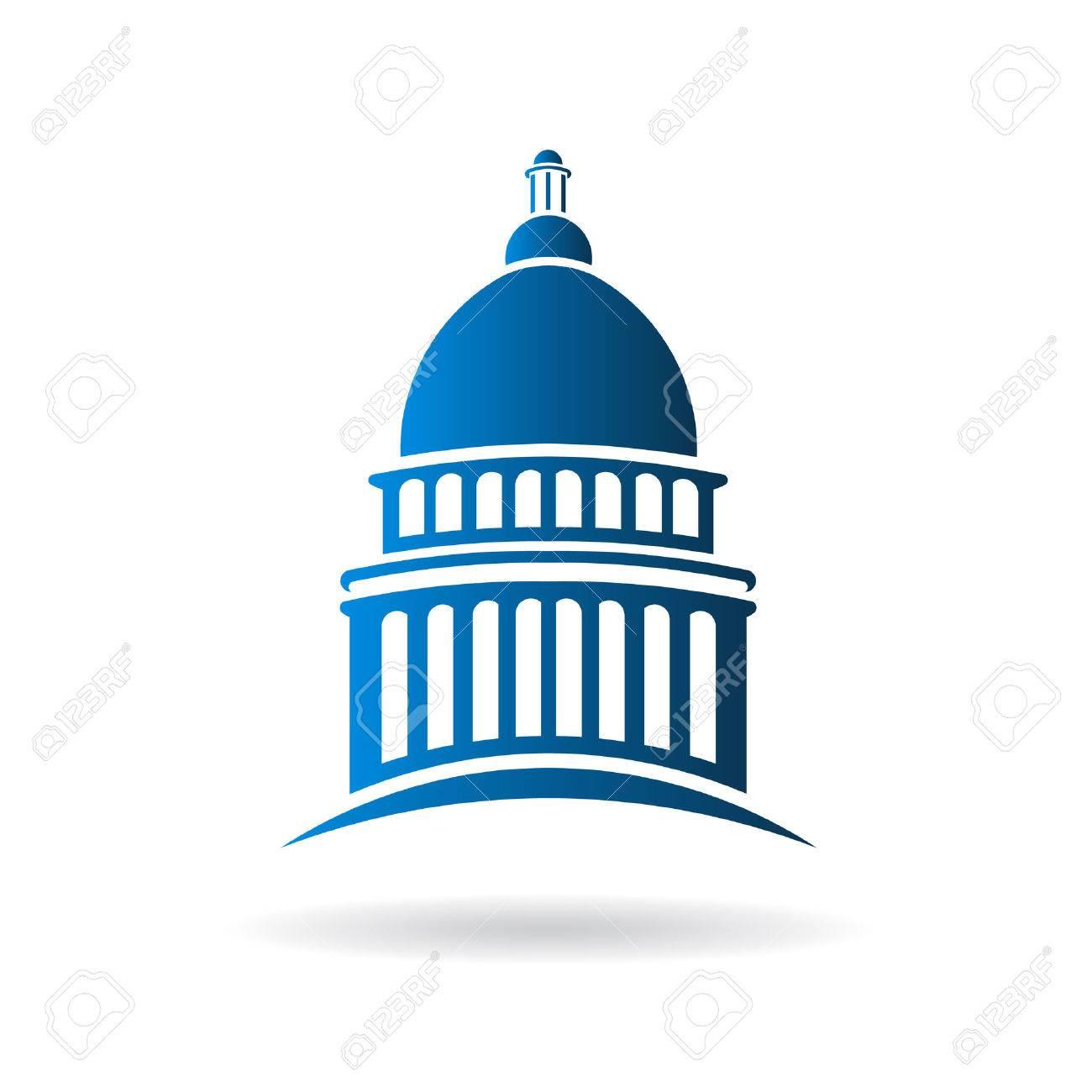 vector capitol building icon royalty free cliparts vectors and rh 123rf com capitol records building vector capitol building vector free