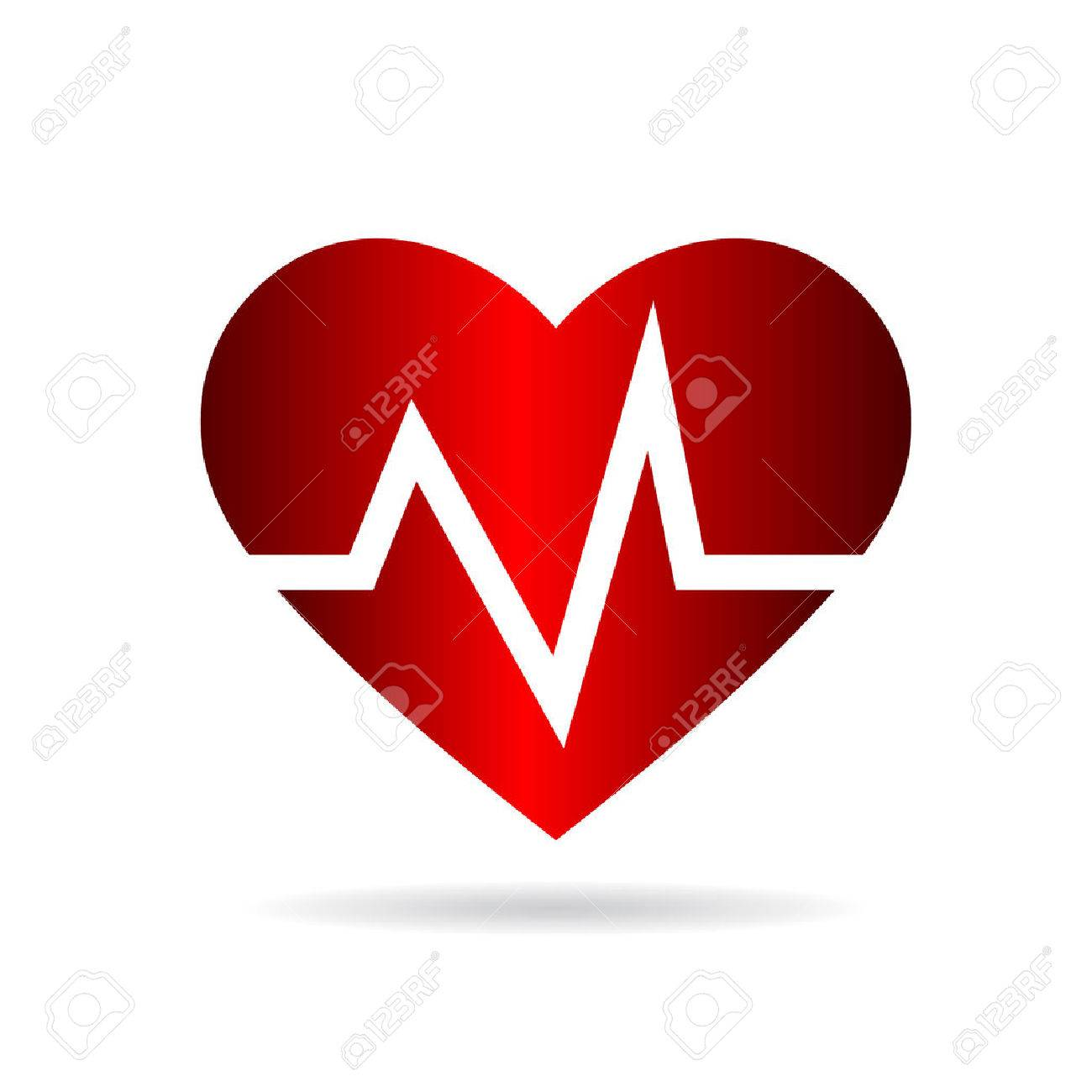 Heart beat rate,Cardio and medical Archivio Fotografico - 39447352