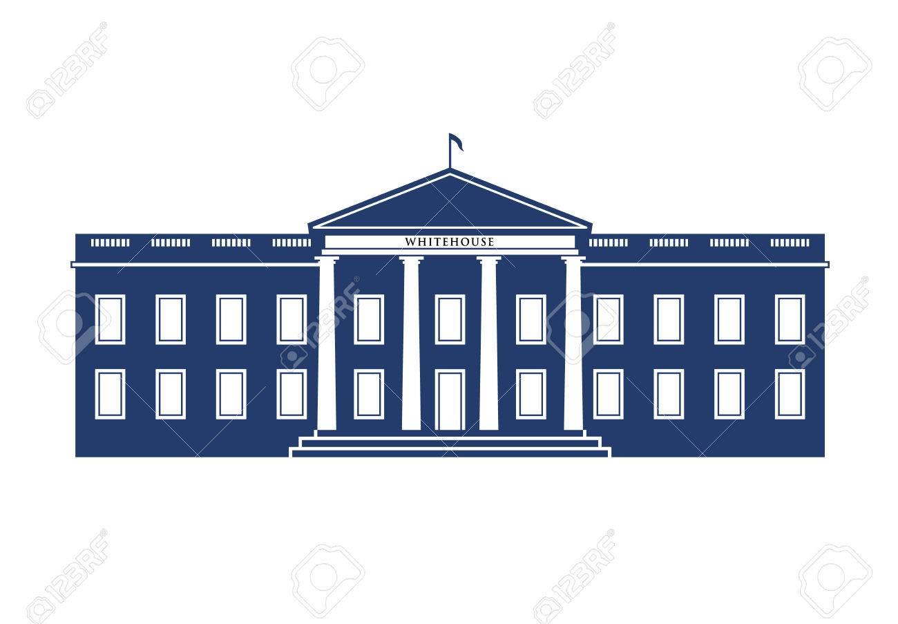 white house building royalty free cliparts vectors and stock rh 123rf com white house vector free white house vector art