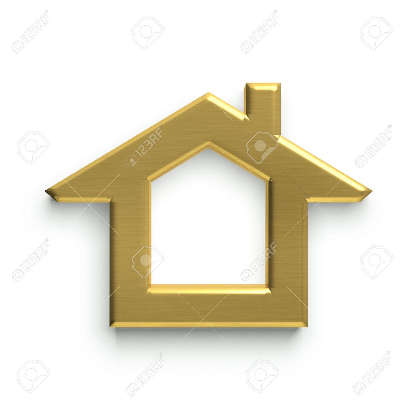 Camera 3D Logo. D'oro Archivio Fotografico - 41763224