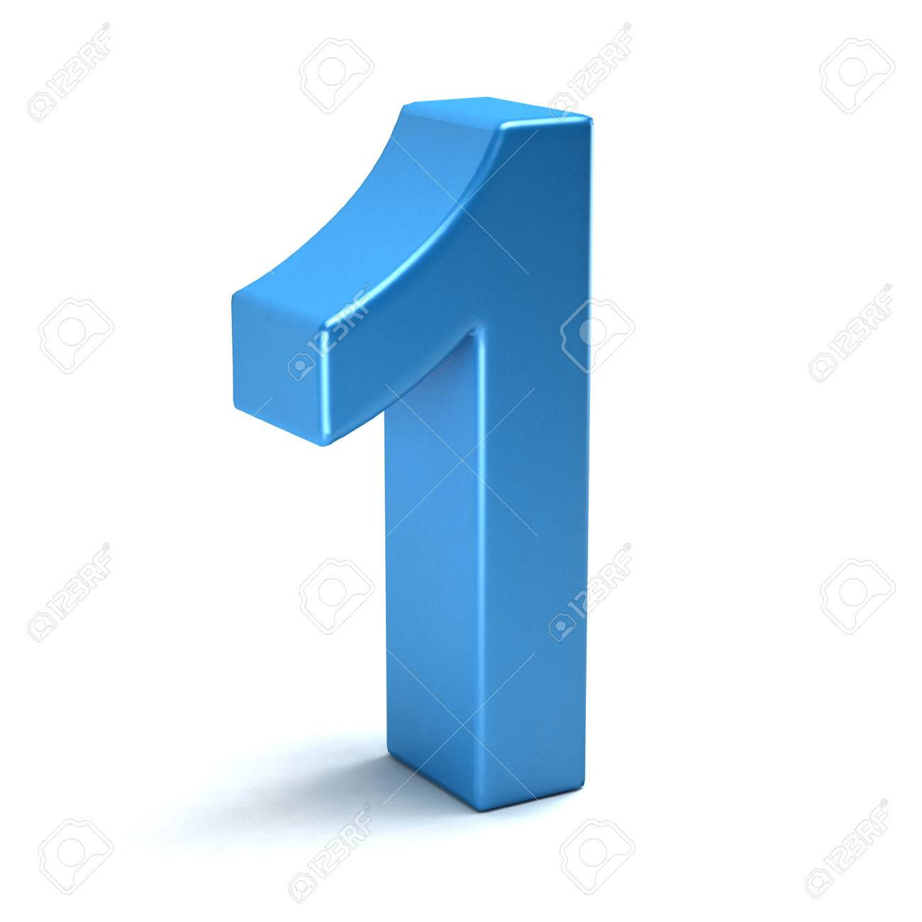 number one color blue icon stock photo picture and royalty free