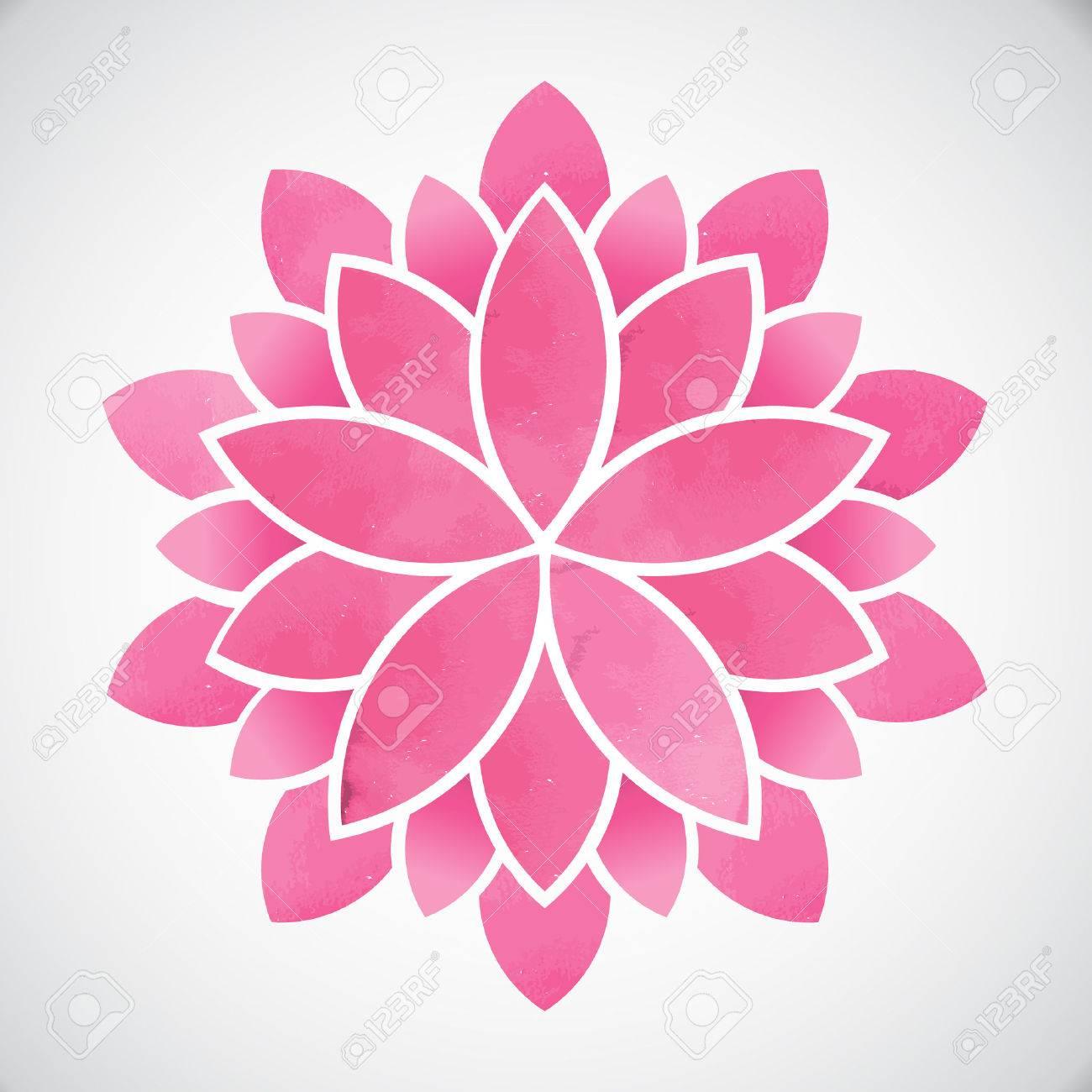 Lotus flowerwatercolor style vector graphic design royalty free lotus flowerwatercolor style vector graphic design stock vector 50748984 izmirmasajfo