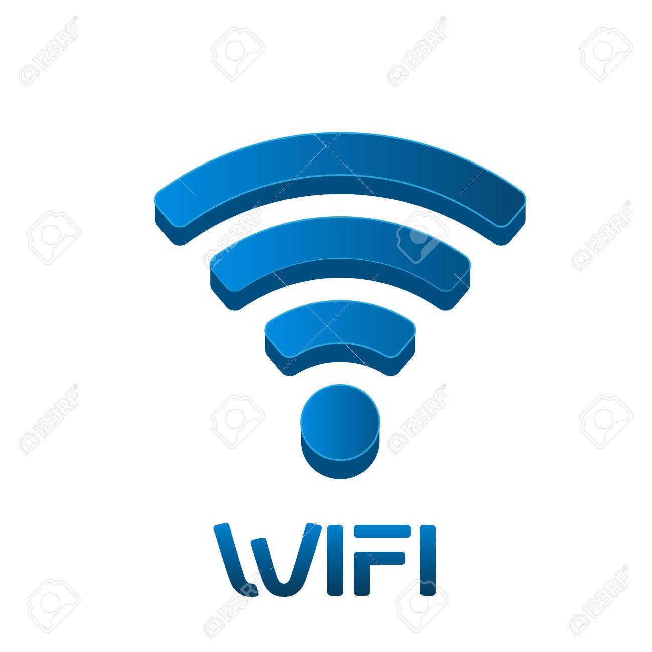 Wireless Network Signal Logo. Vector graphic design - 56118806