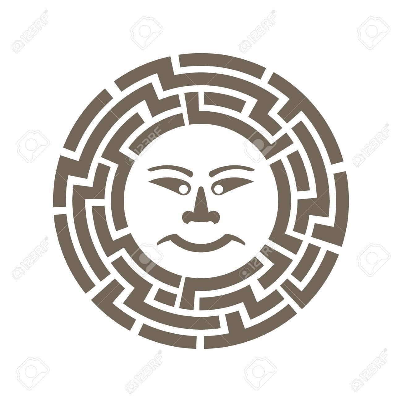 弥生太陽象形文字のイラスト素材ベクタ Image 56478694