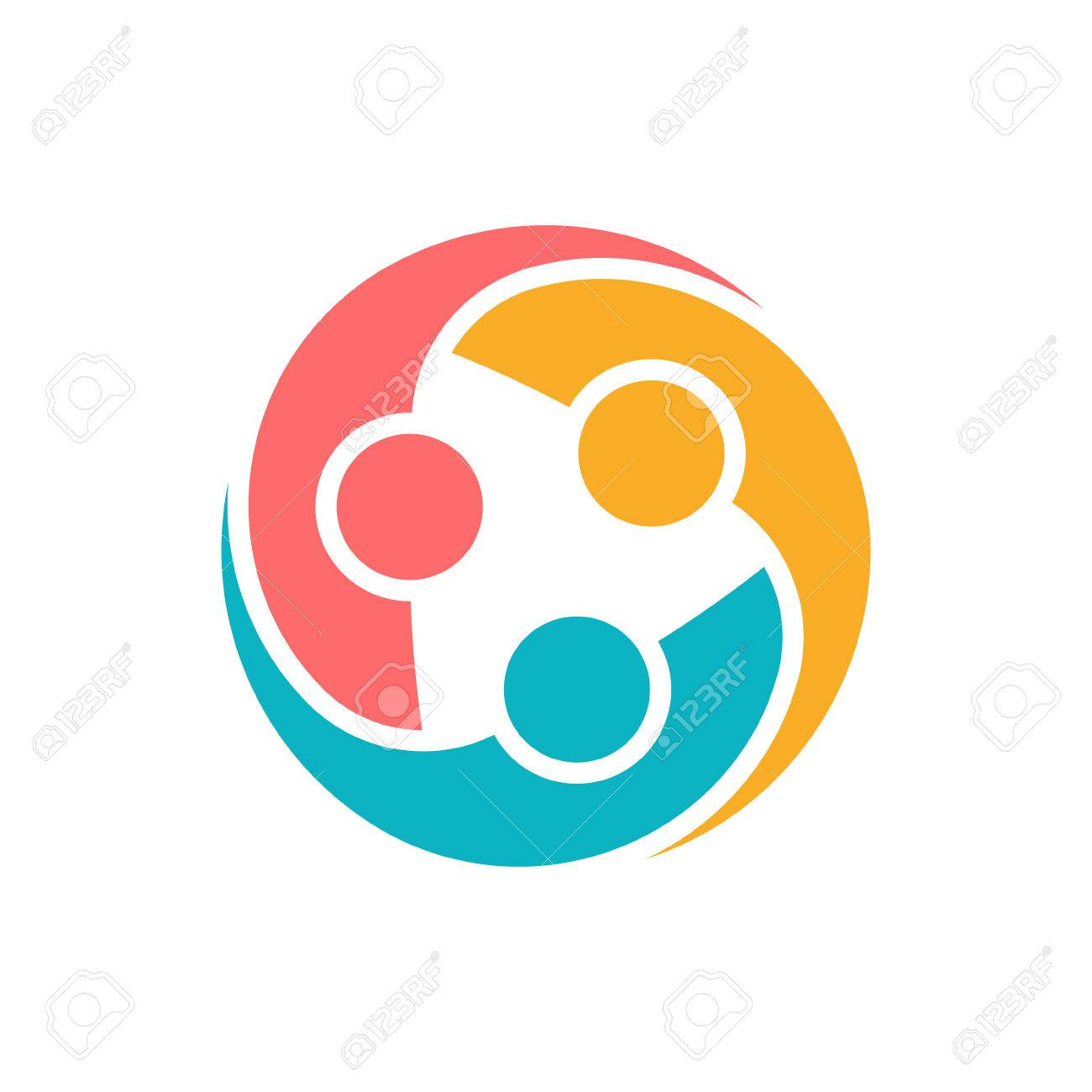 People Protection Group Logo. Vector graphic design illustration - 57043370