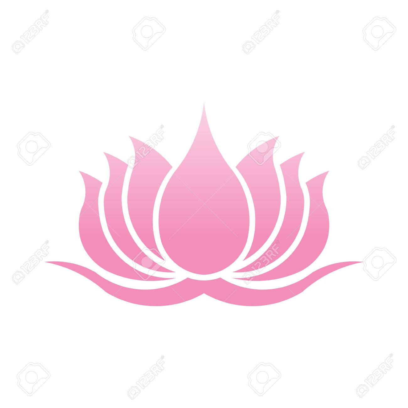 Lotus flower logo vector design illustration royalty free cliparts lotus flower logo vector design illustration stock vector 74131171 mightylinksfo