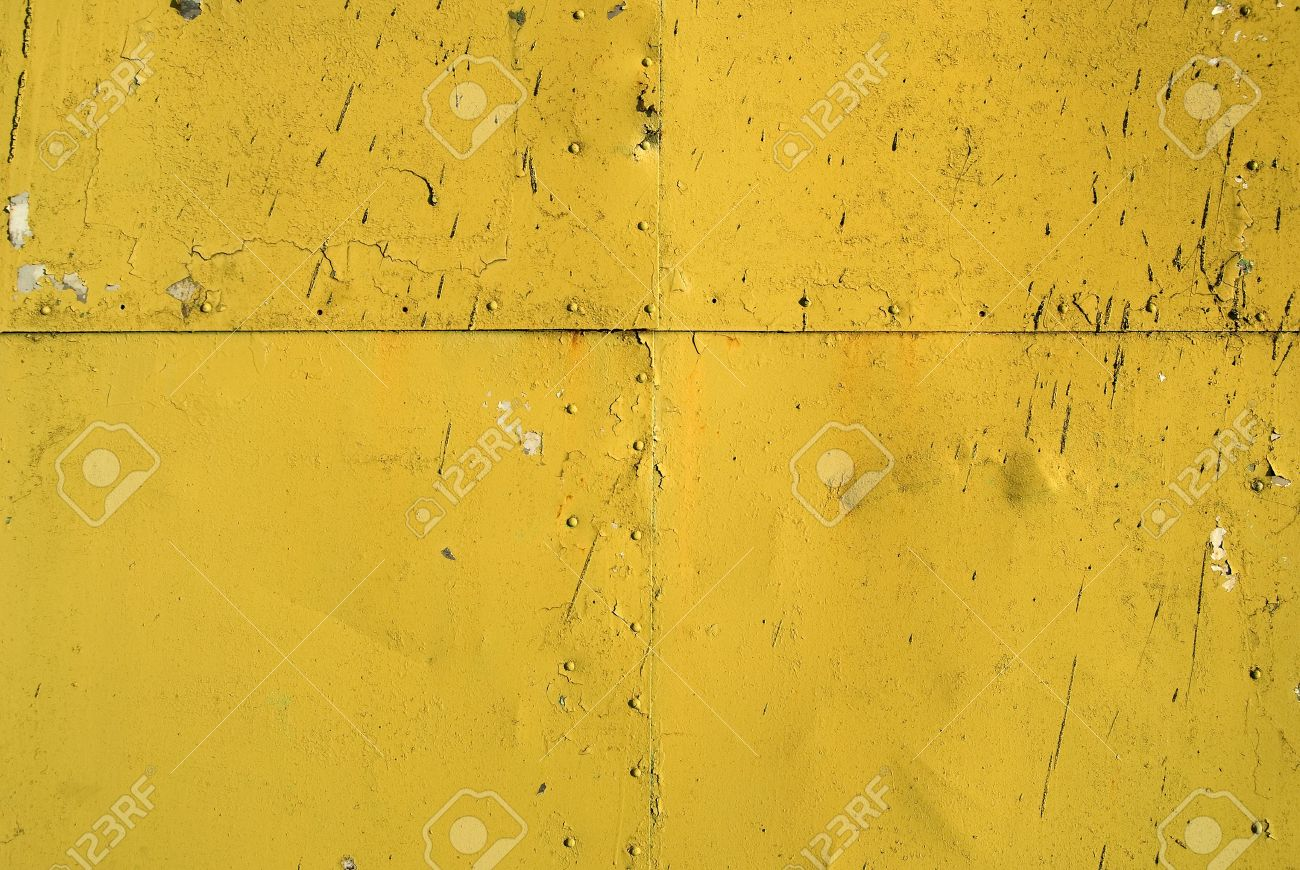 Texture Of Old Paint Metal With Seam And Rivets Stock Photo Picture
