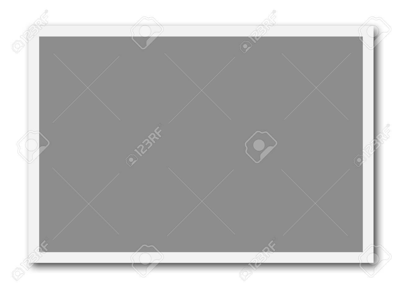 Un Cuadro Vacío Listo Para Insertar Una Foto O Para Crear Un Collage ...