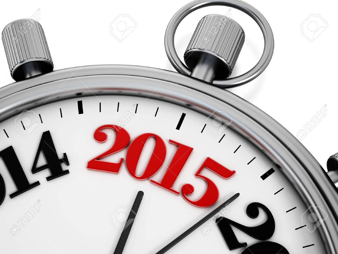 Countdown to new year 2015 concept. Stock Photo - 31780372
