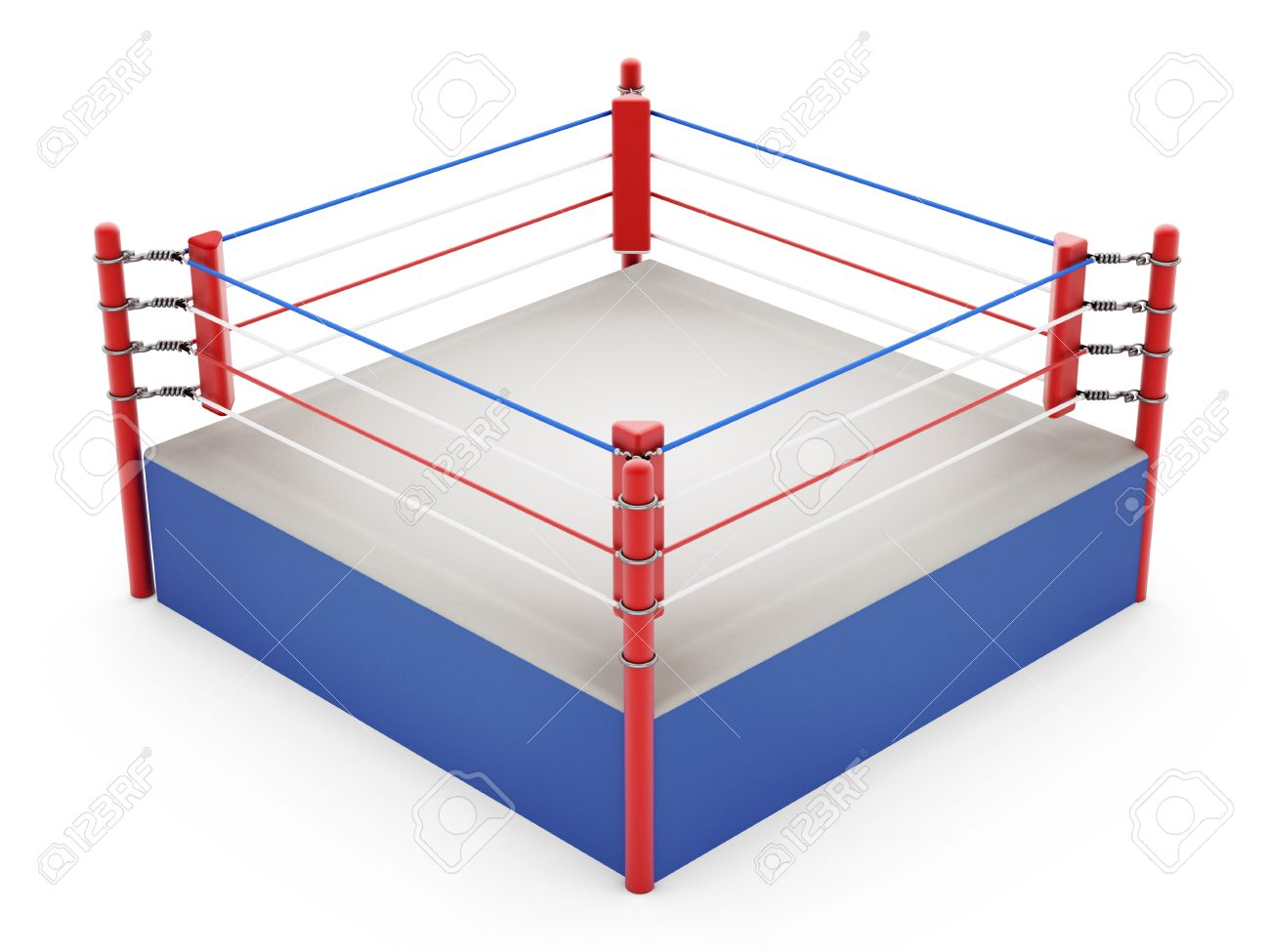 Boxing ring isolated on white background stock photo picture and boxing ring isolated on white background stock photo 43547823 ccuart Images