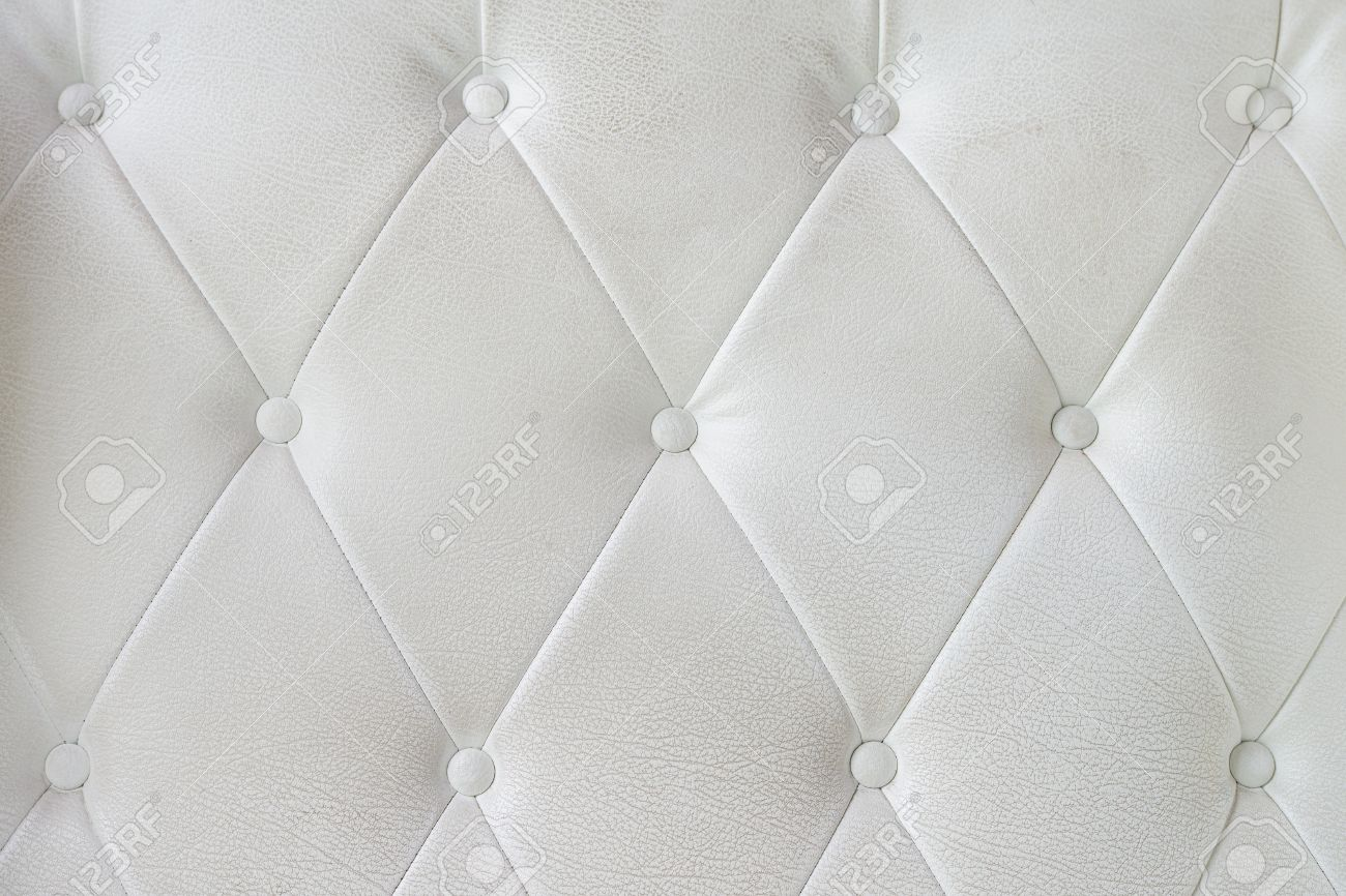 White leather sofa texture Stock Photo - 20322430