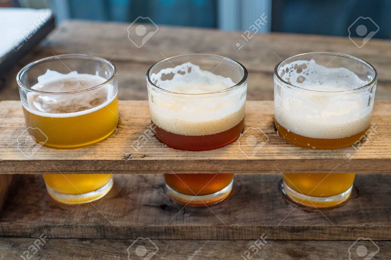 Craft beer in the glass - 50085478