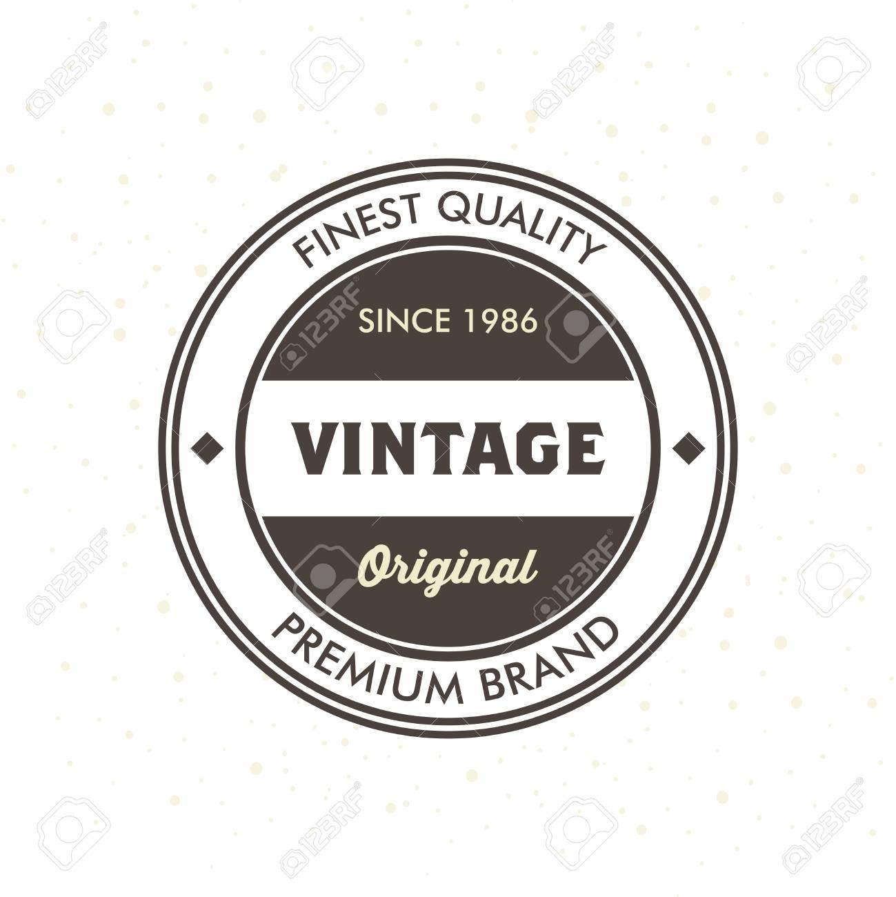 Vintage hipster logo design template vector royalty free cliparts vector vintage hipster logo design template vector maxwellsz