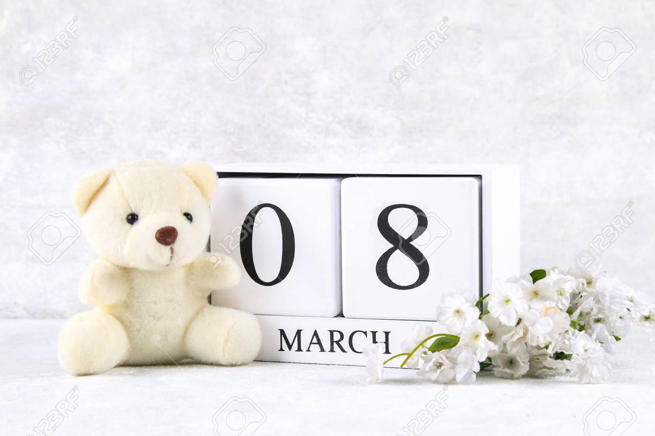 March 8 International Women S Day A Wooden Perpetual Calendar