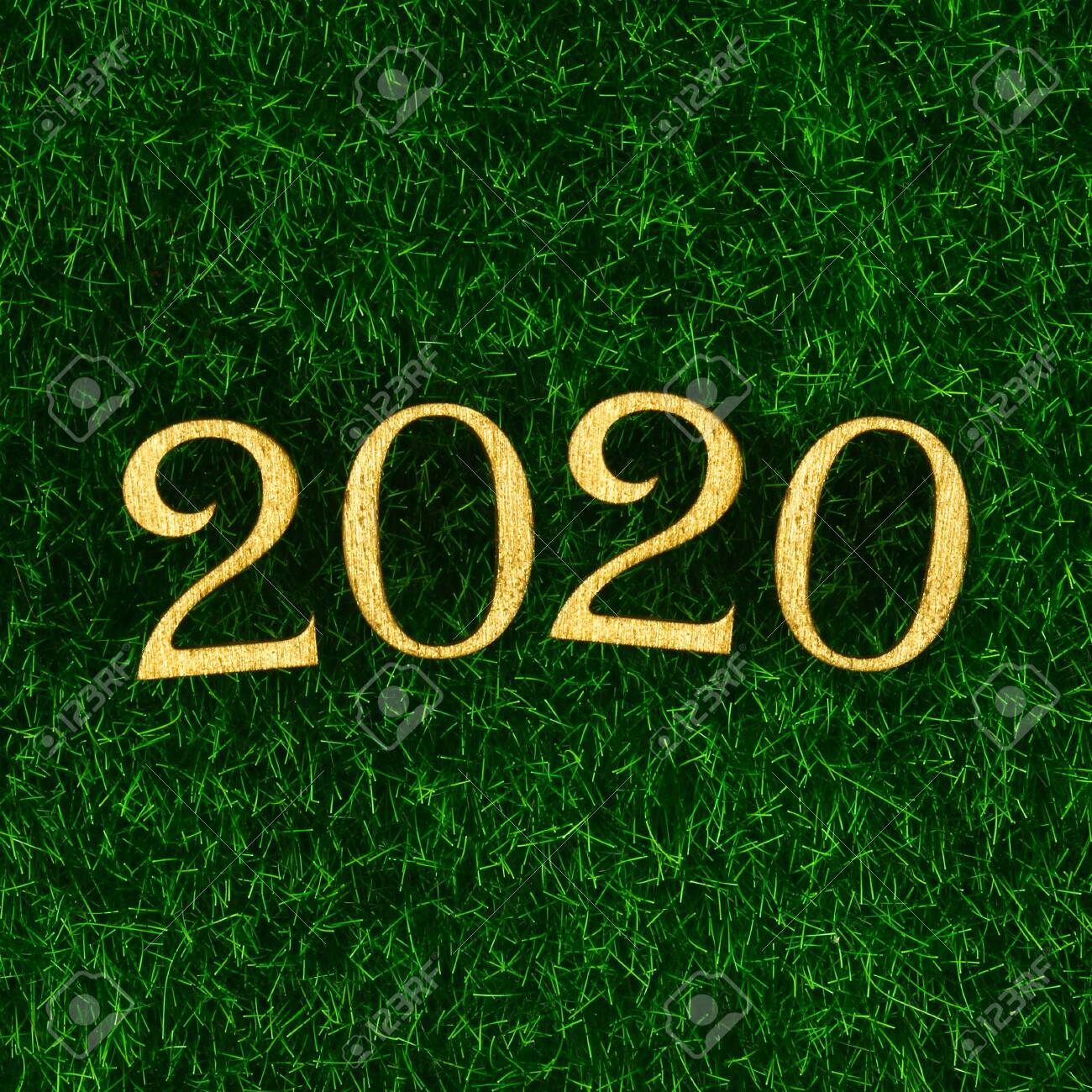 Merry Christmas And Happy New Year 2020 Writing Happy New Year 2020. Creative Text Happy New Year 2020 Written