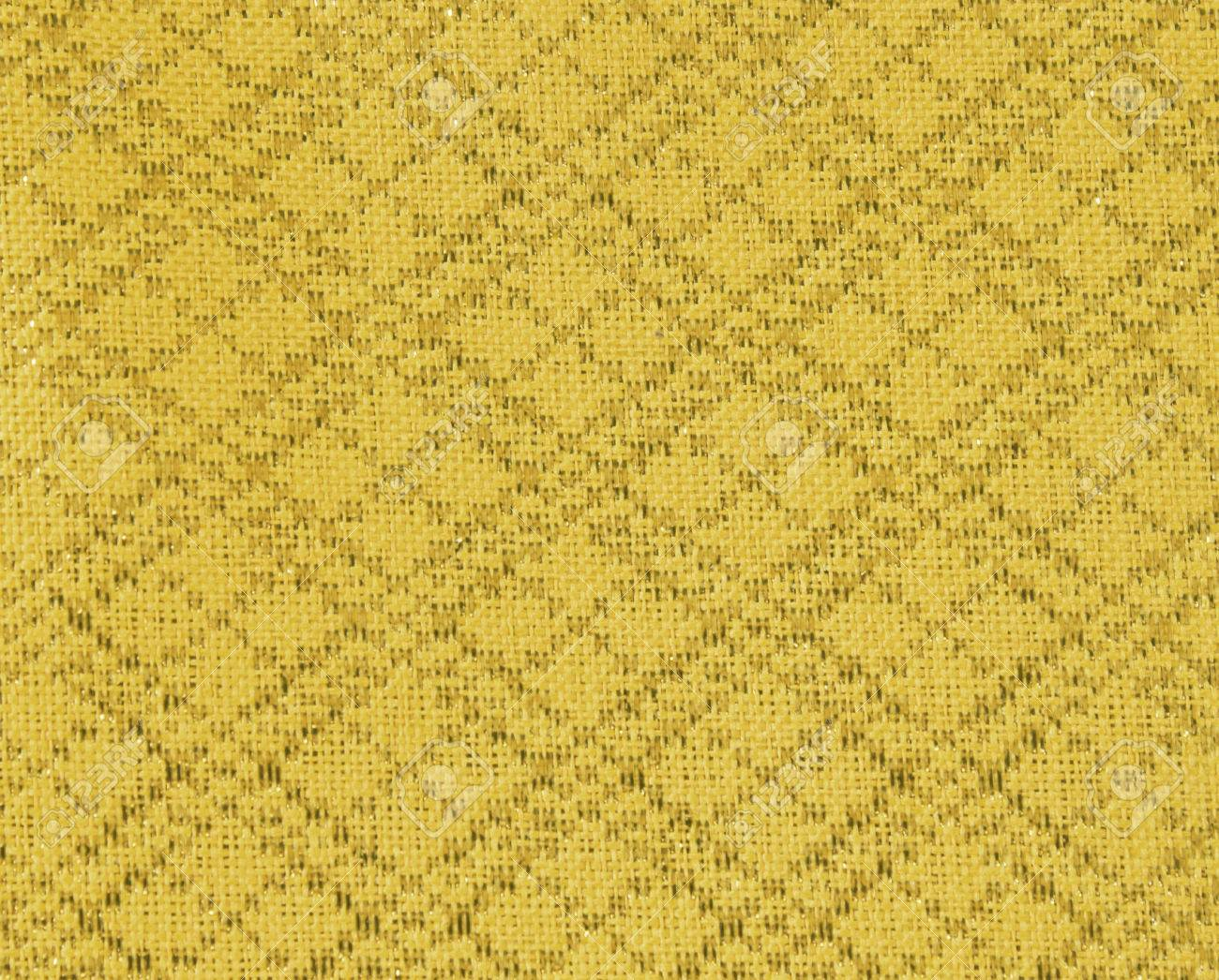 Floral Wallpaper Pattern Light Yellow Abstract Background Texture Interior Stock Photo