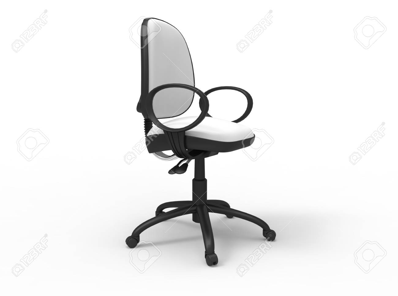 Oficina blanca Silla 03