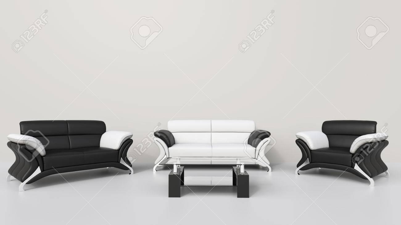 Moderne Wohnzimmer Weiß Lizenzfreie Fotos, Bilder Und Stock ...