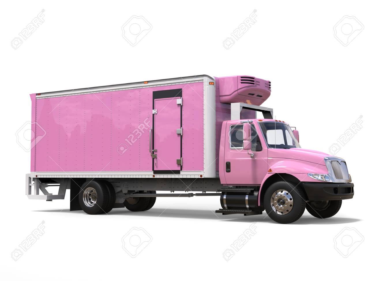 Kühlschrank Rosa : Rosa cargo kühlschrank lkw lizenzfreie fotos bilder und stock