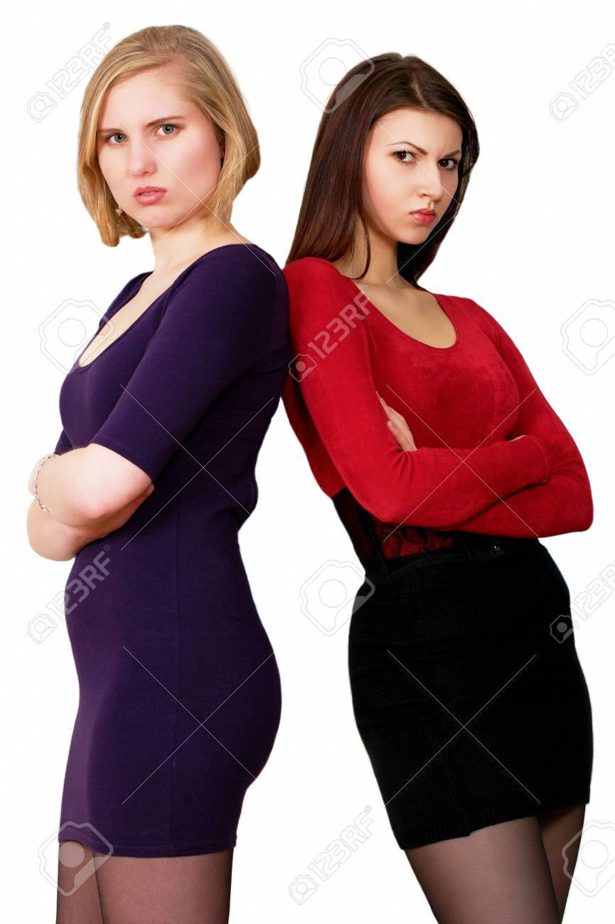 Angry young women Stock Photo - 11365296