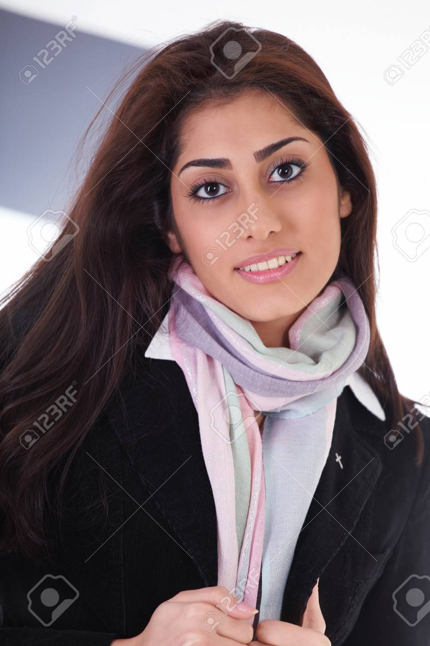 Pretty female model with stylish clothes Stock Photo - 12622667
