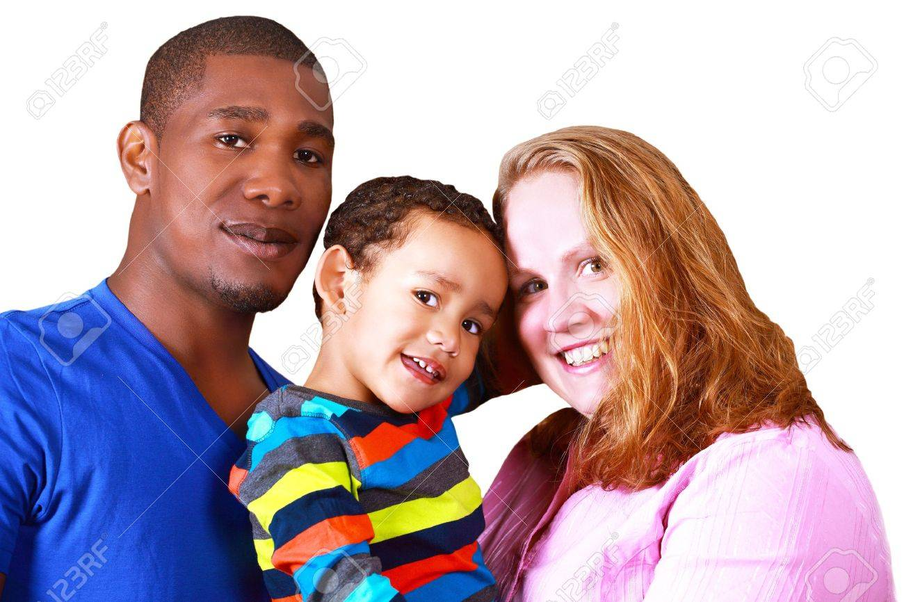 Happy multicultural family Stock Photo - 16406646