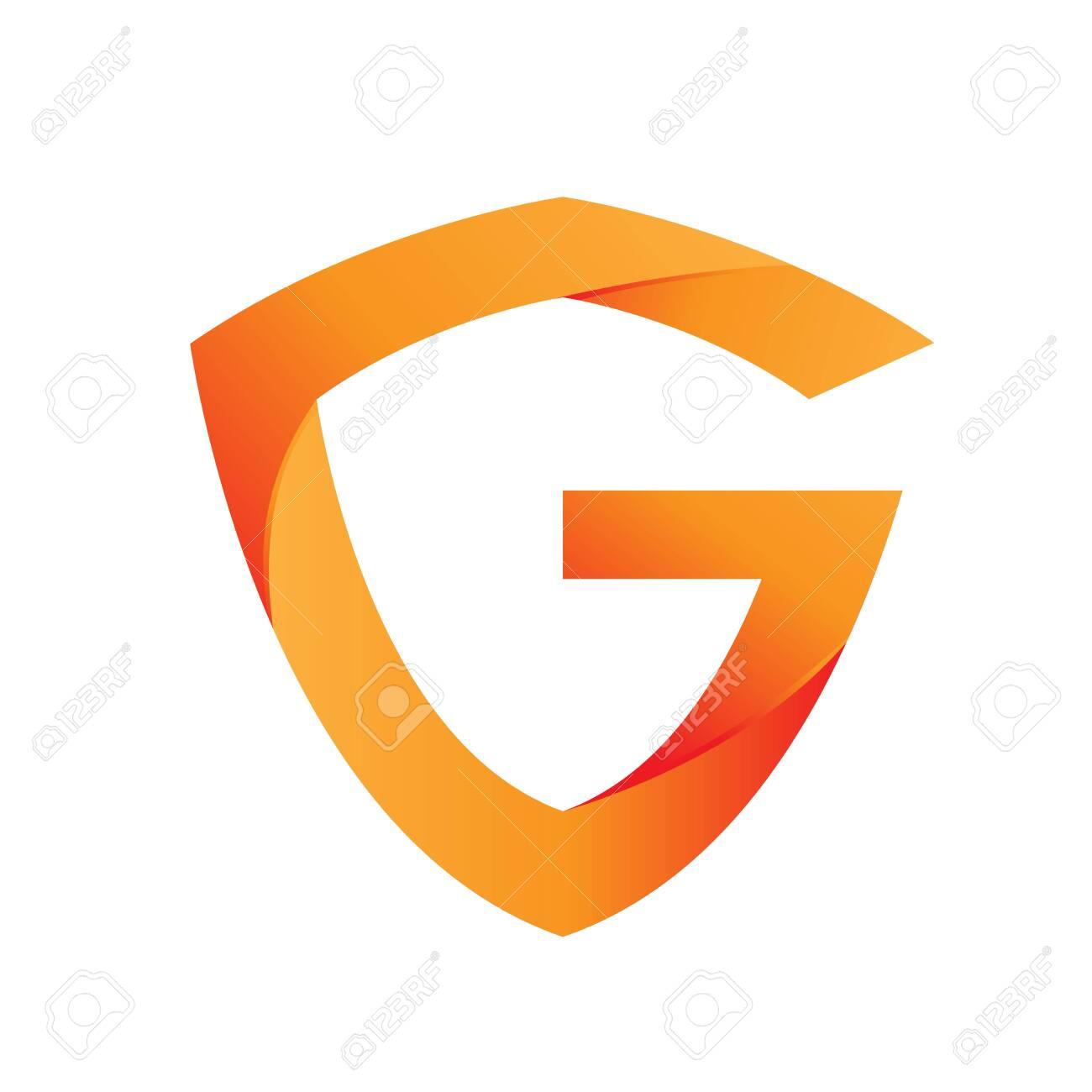 Shield G logo design template - 147411782