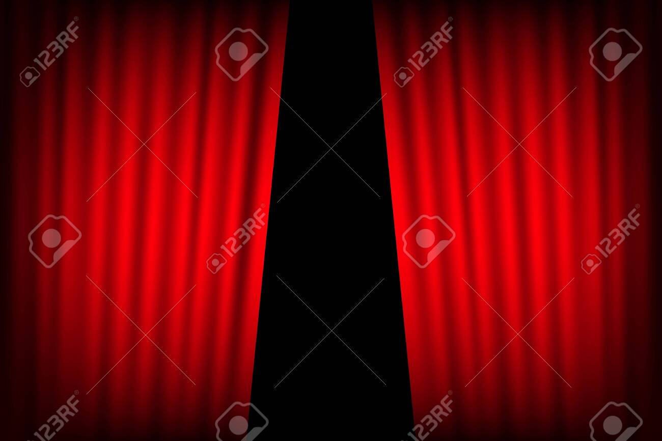 Entertainment Curtains Background For Movies Beautiful Red Theatre Royalty Free Cliparts Vectors And Stock Illustration Image 121024722
