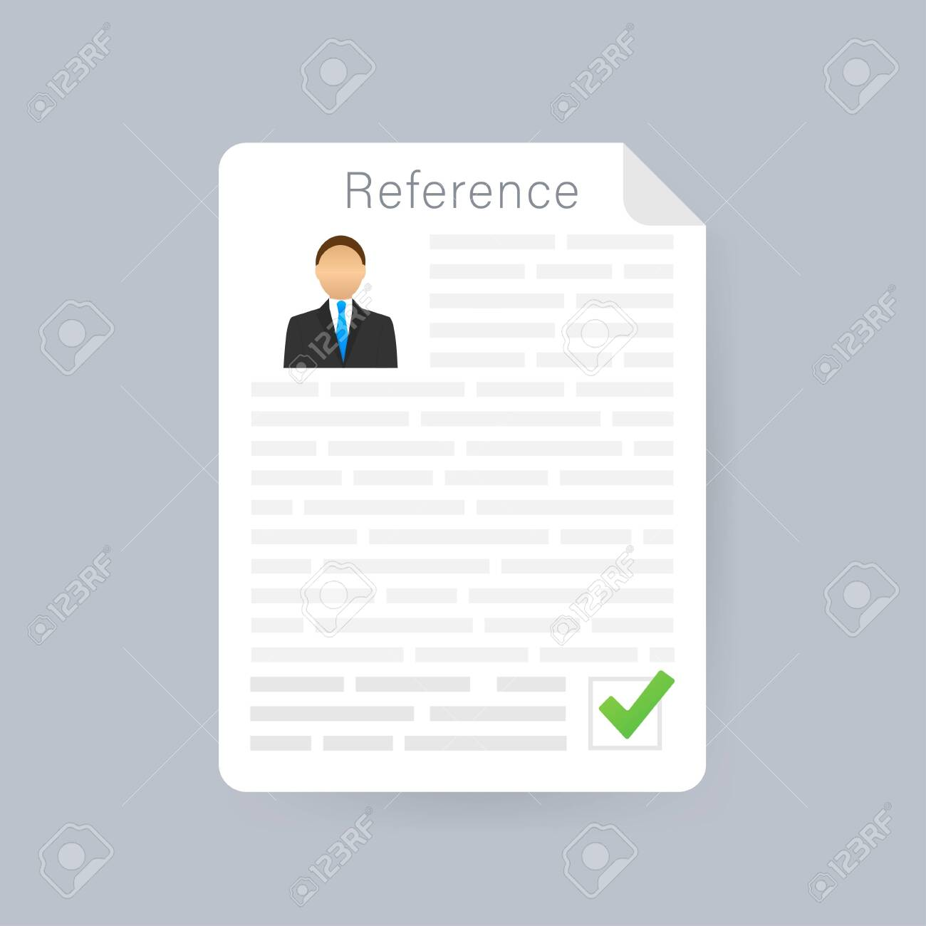 Letters Of Recommendation Clipart