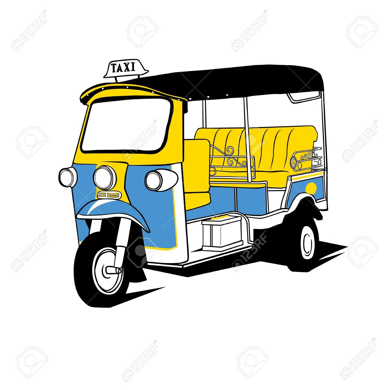 Tuktuk Taxi Thailand