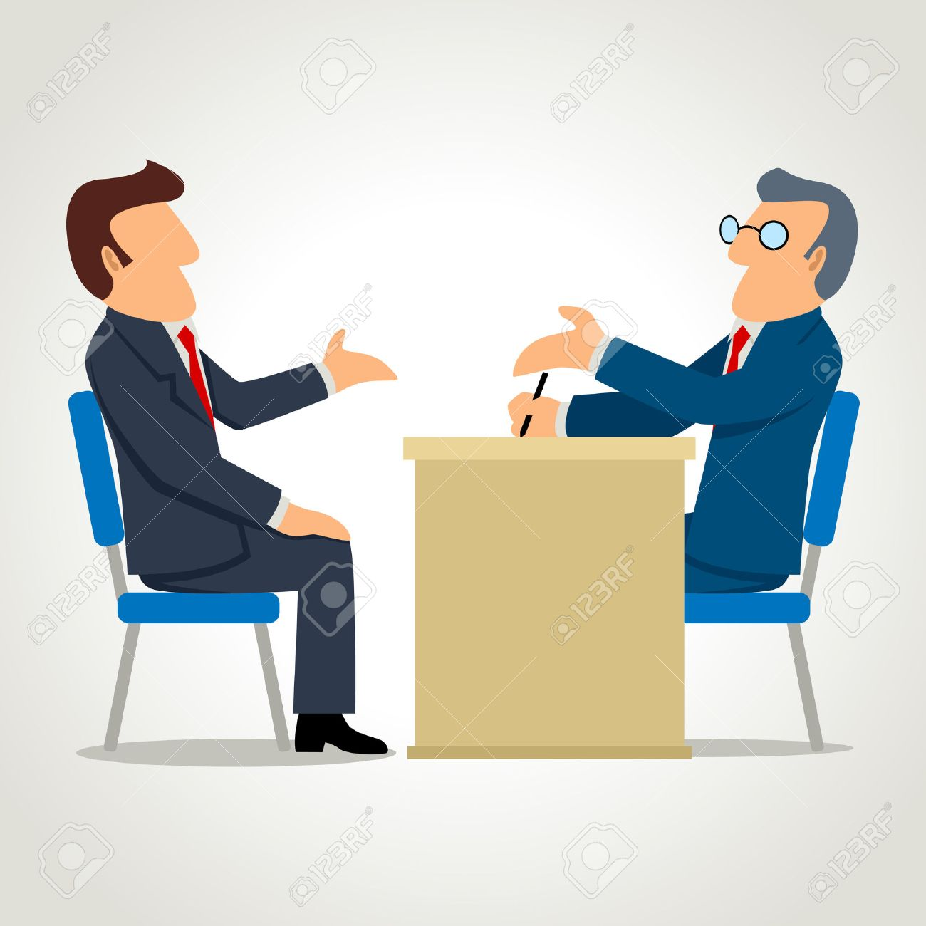 3 485 employee skills stock vector illustration and royalty employee skills simple cartoon of a man being interviewed