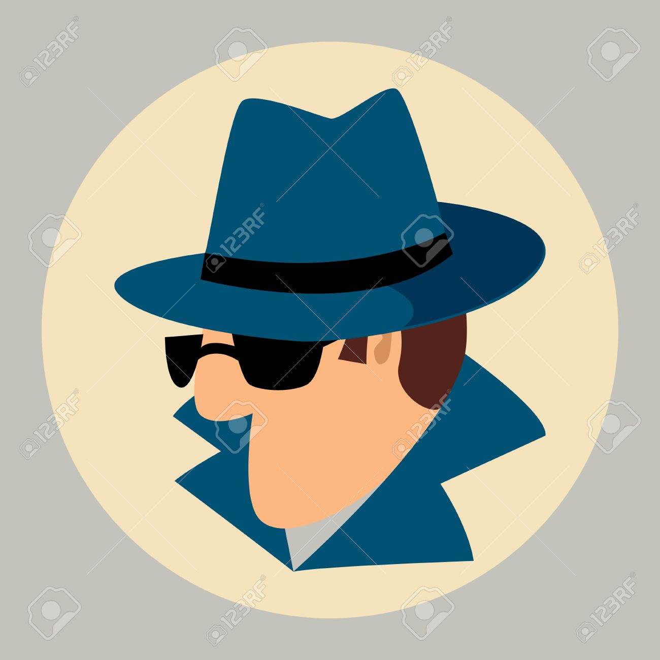 Simple Cartoon Of A Man Wearing Detective Hat And Sunglasses Royalty Free Cliparts Vectors And Stock Illustration Image 50934578 Download 3,700+ royalty free detective hat vector images. simple cartoon of a man wearing detective hat and sunglasses