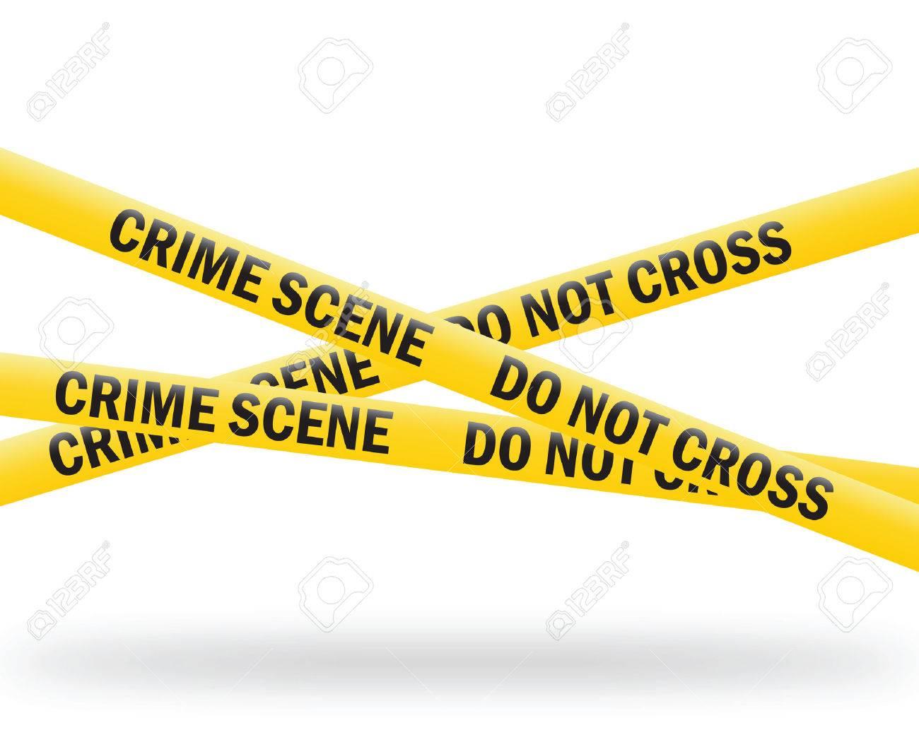 crime scene tape - 6371033