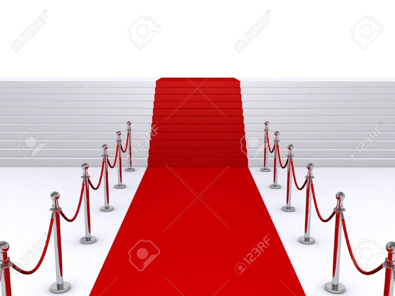 red carpet and stairs Stock Photo - 6519795