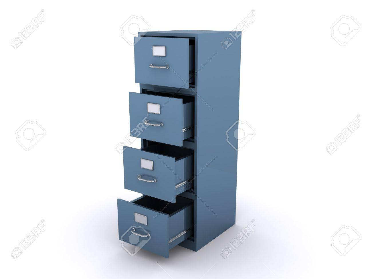 empty file cabinet Stock Photo - 8186989
