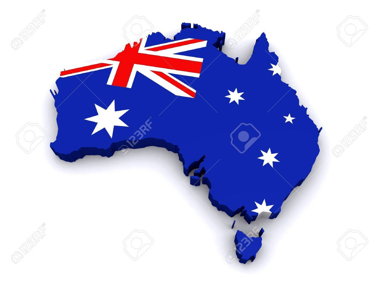 Free 3d Map Of Australia.3d Map Of Australia