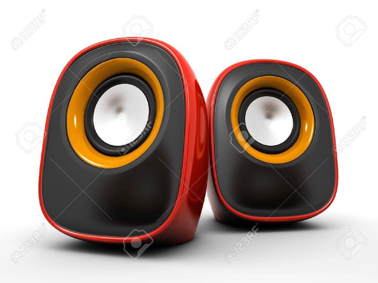 speakers Stock Photo - 11531839