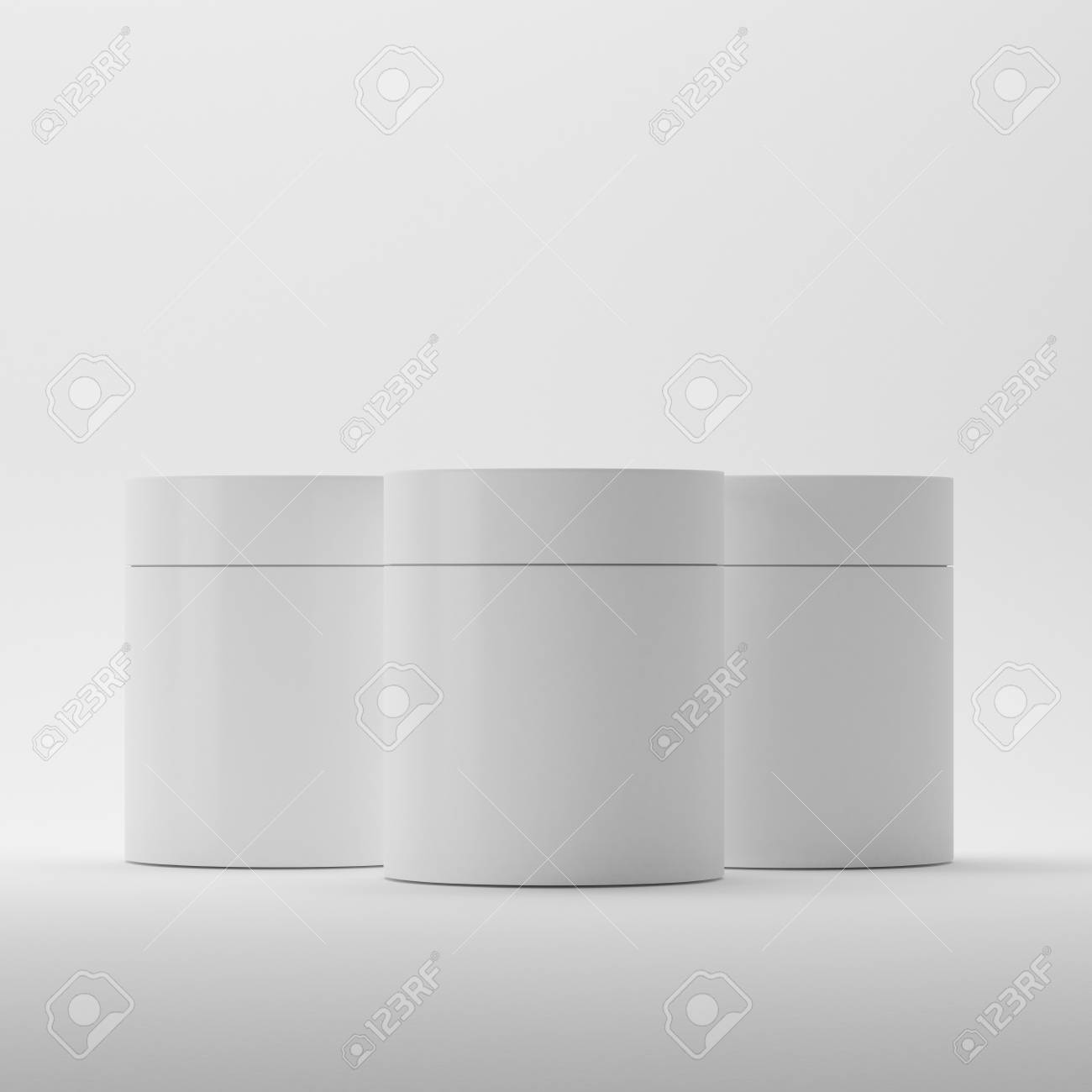 Blank Cosmetic Package Container For Cream Medicine Or Gel On