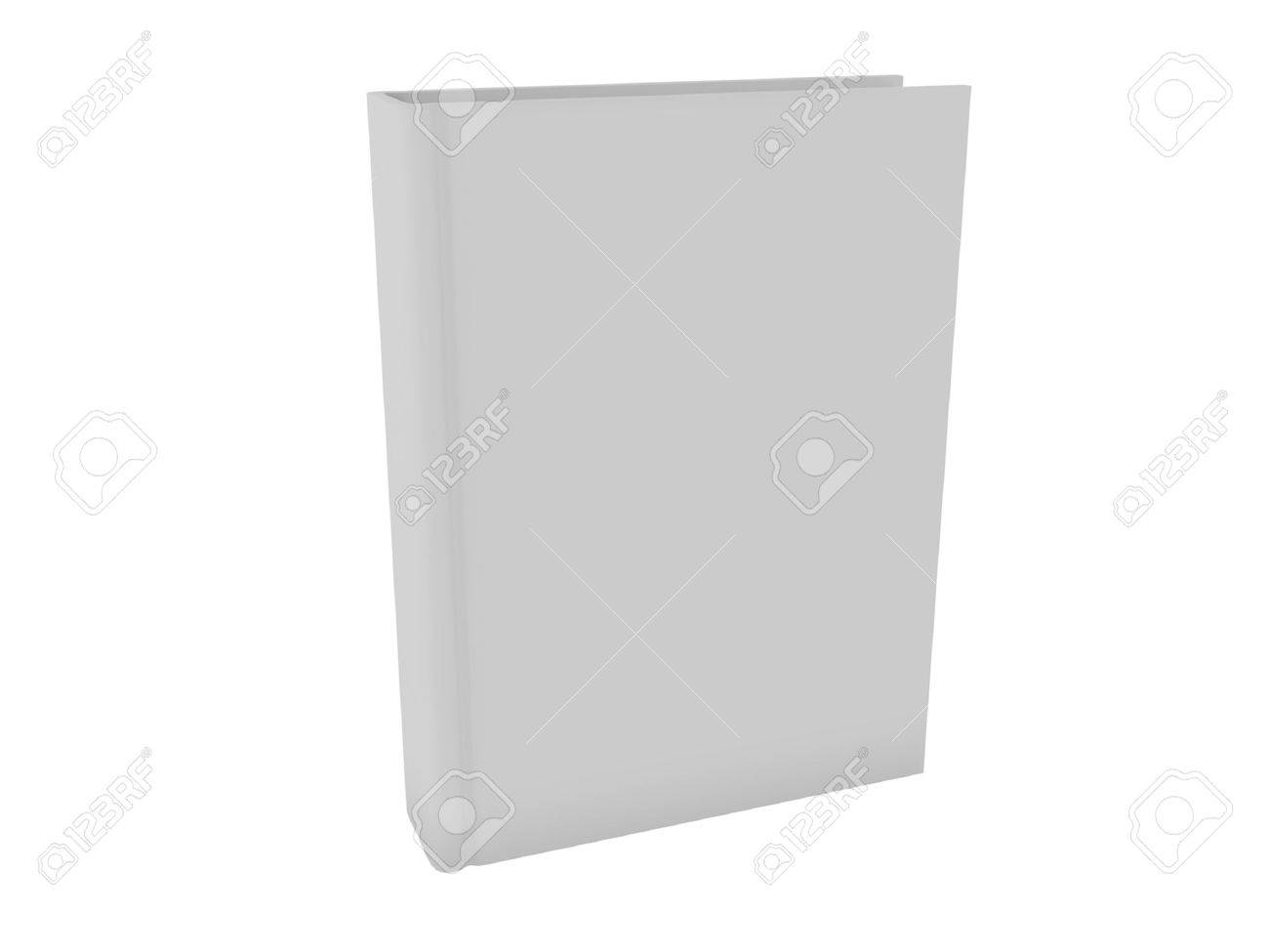 Blank White Book Stock Photo - 11563224