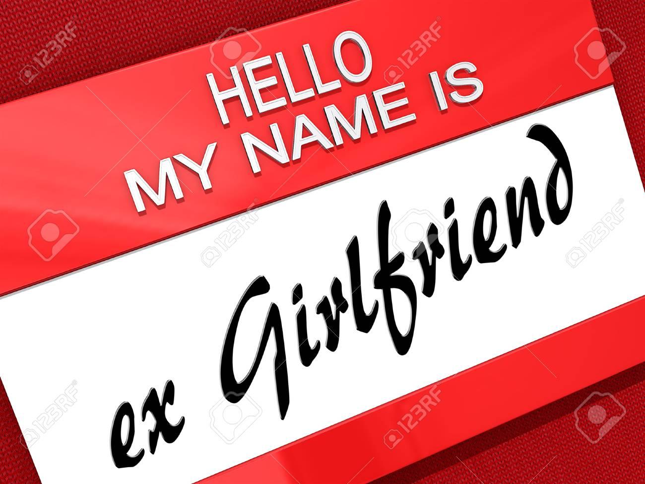 Hello My Name is Stock Photo - 18221835