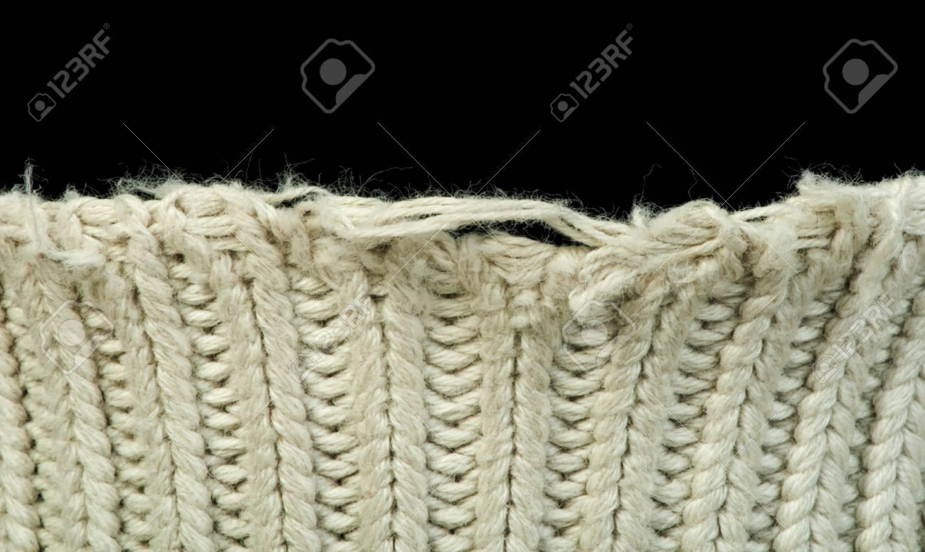 aa92c949eaba62 Old knit sweater background. Beige color. Studio shot Stock Photo - 18236310