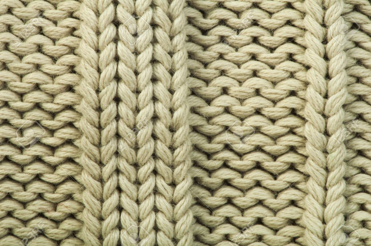 06d472344731a6 Old knit sweater background. Beige color. Studio shot Stock Photo - 18236492