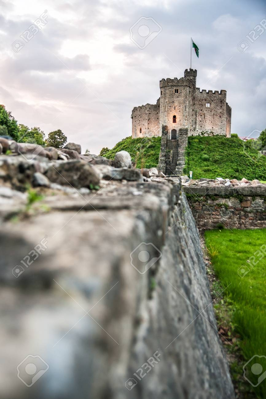 Cardiff Castle A Medieval Victorian Gothic Revival Situated In The City Centre Of